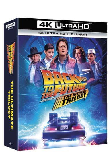 Návrat do budoucnosti kolekce 1.-3. - remasterovaná verze - (7 disků) - Blu-ray + 4K Ultra HD