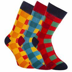 Bellinda 3PACK ponožky vícebarevné (BE491004-307)