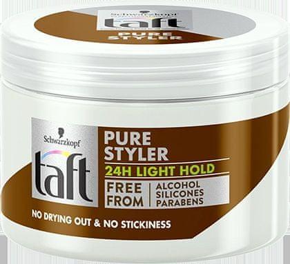 Taft Pure Styler gel za lase, Light Hold, 150 ml