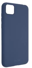 FIXED Zadný pogumovaný kryt Story pre Honor 9S, modrý FIXST-581-BL