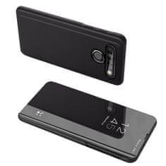 MG Clear View knížkové pouzdro na LG K61, černé