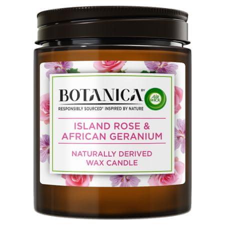 Air wick Botanica by gyertya - Egzotikus rózsa és afrikai muskátli 205 g