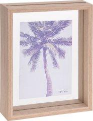 Koopman Fotorámeček 21 x 16 x 4 cm, dřevo/dvojité sklo