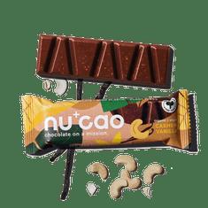NUCAO Tyčinka ~ vanilková s kešu v čokoláde (40 g)