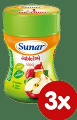 Sunar Instantní nápoj jablečný, 3×200g