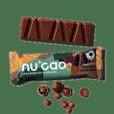 NUCAO Tyčinka ~ lieskovo-oriešková v čokoláde (40 g)