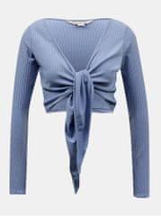 Miss Selfridge modrý krátký kardigan