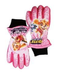 "SETINO Dievčenské lyžiarské rukavice ""Paw Patrol"" - ružová"
