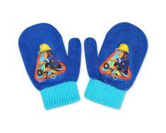 """SETINO Chlapecké rukavice """"Požárník Sam"""" - světle modrá - 10x13cm"""