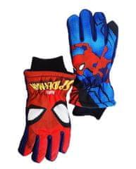 """SETINO Chlapčenské lyžiarske rukavice """"Spider-man"""" - modrá"""