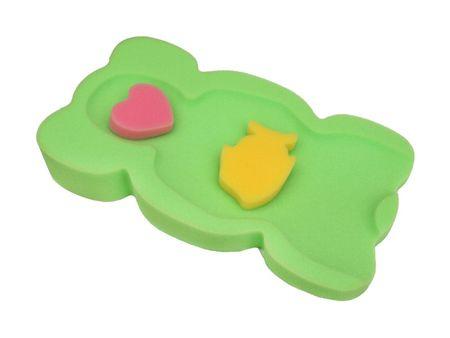 Tega Baby Babafürdető szivacs az UNI KOLOR kádhoz - zöld