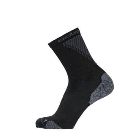 ODLO Ceramicool Crew nogavice, B:15000, črne, 39 - 41