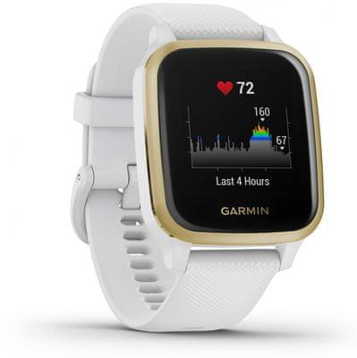 Inteligentné hodinky Garmin VENU SQ, LCD displej, smart watch, pokročilé, zdravotné funkcie, tep, dych, menštruačný cyklus, pitný režim, metabolizmus, kalórie, vzdialenosti, kroky, aktivita, odpočinok, spánok, plávanie, vodeodolnosť 5 ATM