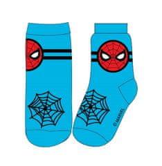 """Eplusm Wysokie skarpety chłopięce """"Spiderman"""" - niebieski"""