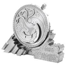 Metal Earth 3D puzzle Igra prijestolja: Grb Targaryen