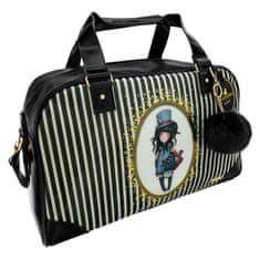 Santoro Gorjuss potovalna torba, Weekend Stripes, velika, 53x30x23 cm
