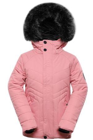 ALPINE PRO lány kabát Icybo 4, 140 - 146, rózsaszín