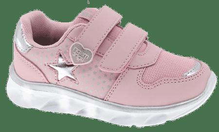Beppi lány világító tornacipő 2180910, 22, rózsaszín