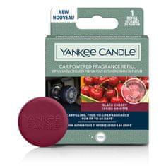 Yankee Candle náhradní náplň do difuzéru do zapalovače auta, vůně Black Cherry