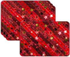 RoomDecor.eu Vianočné prestieranie-144, 4 Ks