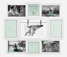 Innova Editions MAGGIORE 9 FRAME WHITE 7x10x15, 2x10x10 48x43