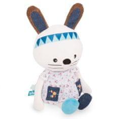 toTs Plyšová hračka so sadou samolepiek s písmenami, Zajačik