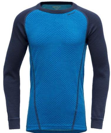 Devold fantovska majica Duo Active Kid Shirt, 152, modra