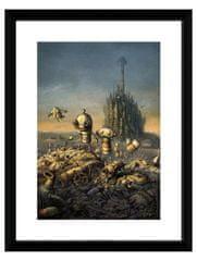 Oprawiony plakat Xzone Originals - Machinarium