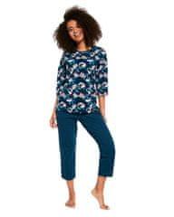 Cornette Dámské pyžamo Cornette 147/247 3/4 S-2XL Grace