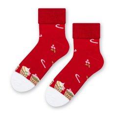 STEVEN Dámské froté ponožky 030