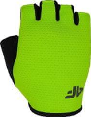4F Unisex cyklistické rukavice 4F RRU300 Zelené
