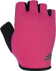 4F Cyklistické rukavice 4F RRU300 Růžové