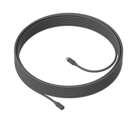 Logitech MeetUp Mic Extension kabel, 10 m