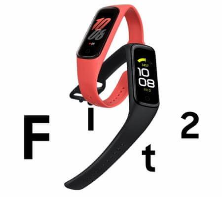 Fitness náramek Samsung Galaxy Fit2, statistiky, kondice, přehled o aktivitě, minimalistický displej