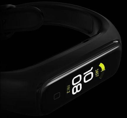 Fitness náramek Samsung Galaxy Fit 2, ergonomie, odvádění potu