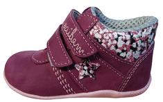 Medico dievčenská kožená členková obuv EX5001-M153