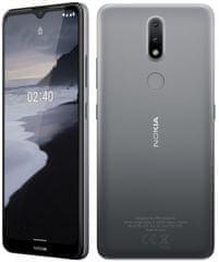 Nokia 2.4 mobilni telefon, 2 GB/32 GB, siv