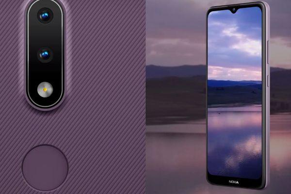 moderný mobilný dotykový telefón smartphone Nokia 2.4 bluetooth wifi Nifco google assistant 4500 mAh batéria LTE sieť dual sim microSDXC karta HD+ displej13 2 mpx zadný fotoaparát 5 Mpx predný fotoaparát zadný blesk android 10 štýlový dizajn inšpirovaný severom