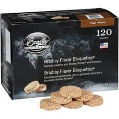 Bradley Smoker Brikety na údenie Pecan 120 ks