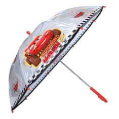 """Vadobag Mechanikus esernyő """"Verdák"""" átlátszó - fekete"""