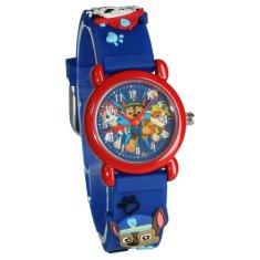 """Vadobag Dětské analogové hodinky """"Tlapková Patrola 3D"""" - modrá"""