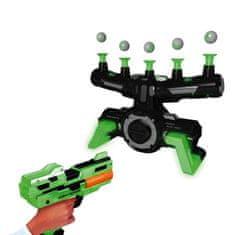 commshop Strieľajúca hra s loptičkami vo vzduchu AirShoot