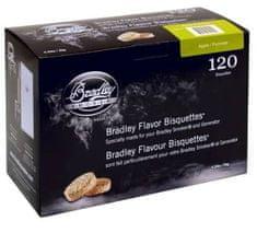 Bradley Smoker Brikety na údenie Jabloň 120 ks