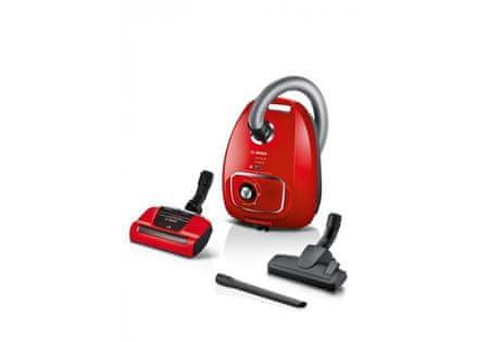 Bosch BGBS4PET1 usisavač s vrećicom, crveni