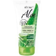 Belita Aloe Jedinečný multifunkční ošetřující gel 7 v 1 na obličej, ruce a tělo, 150 ml