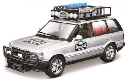 BBurago auto Range Rover 1:24, srebrny