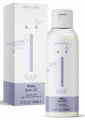 NAIF Mliečny kúpeľový olej 100 ml