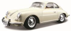BBurago 1:24 Porsche 356B Coupe (1961) model auta, kremasta