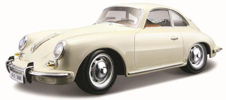 BBurago 1:24 Porsche 356B Coupe (1961) model avta, kremast
