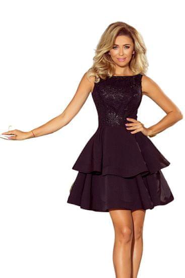 Numoco Dámské šaty 206-2 černá XL